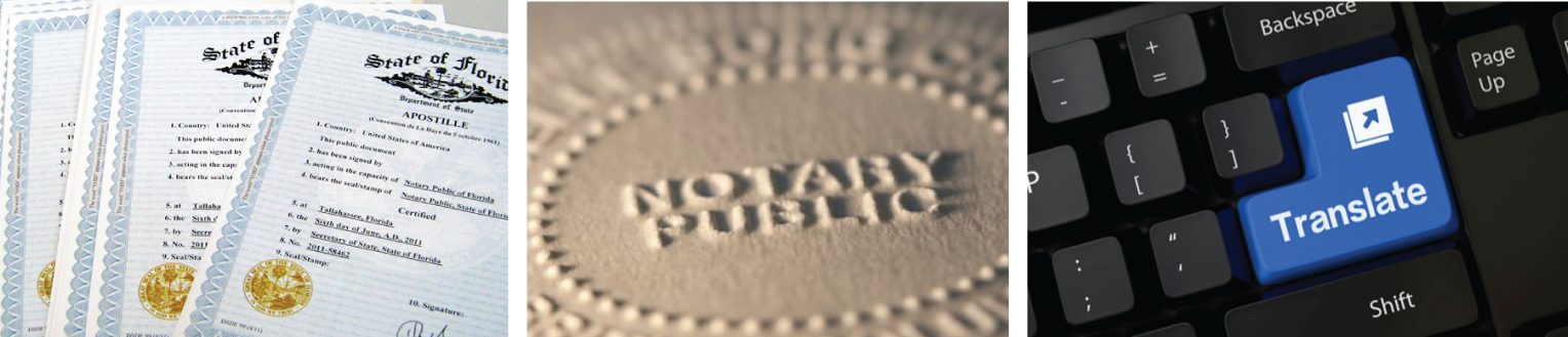Translation, Notary, and Apostille Services Miami West-Palm Beach